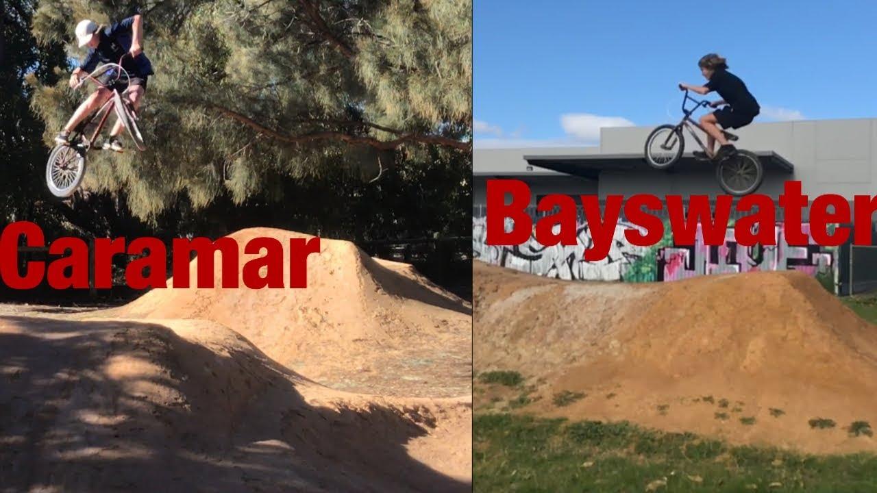 bayswater carramar dirt jumps edit youtube