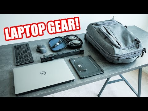 Must Have Laptop Accessories! Dream Laptop Battlestation Setup