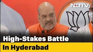 After Yogi Adityanath, JP Nadda, BJP Unleashes Amit Shah In Hyderabad