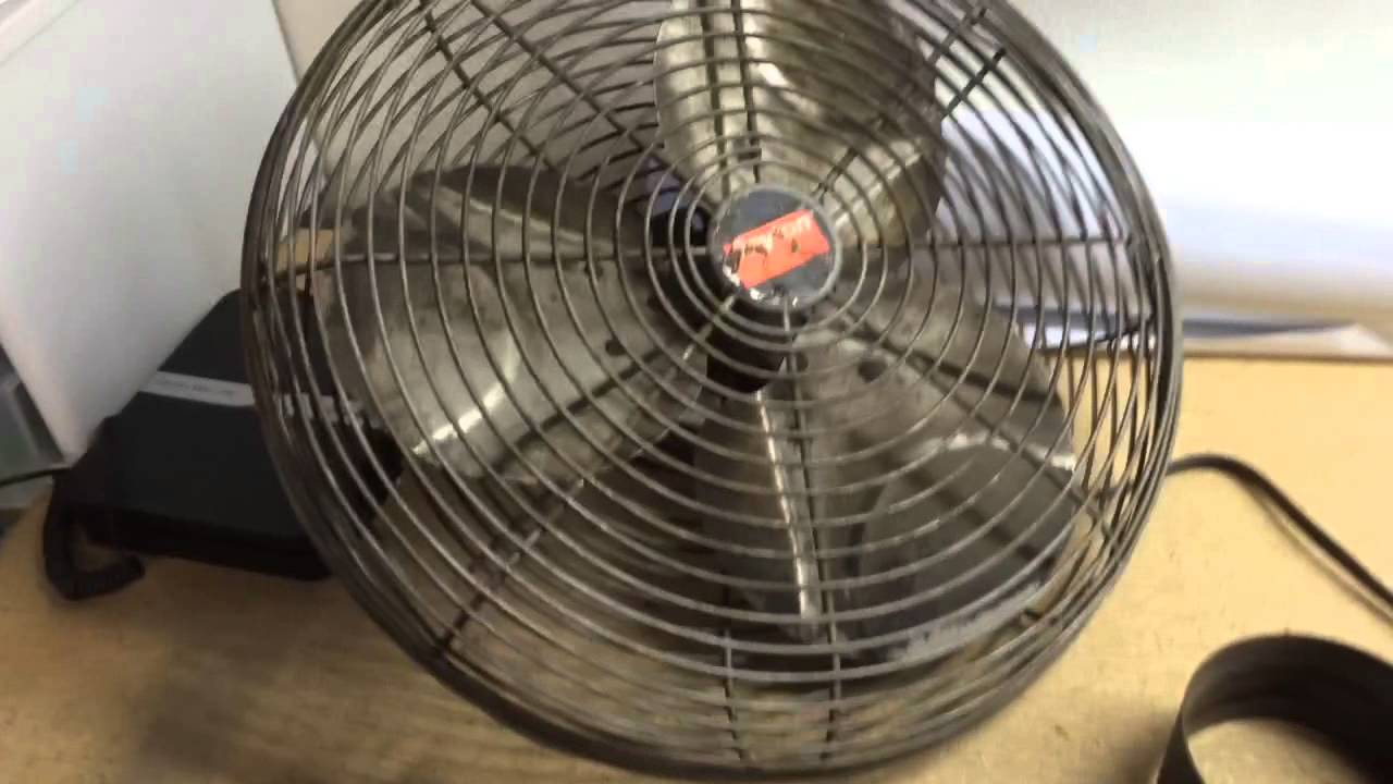 Dayton Industrial Shop Fan Youtube