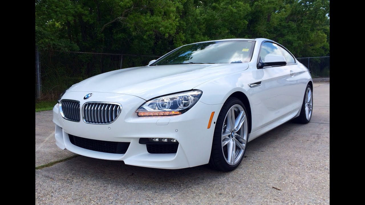 2015 bmw 650i coupe m sport exhaust, start up and in depth review