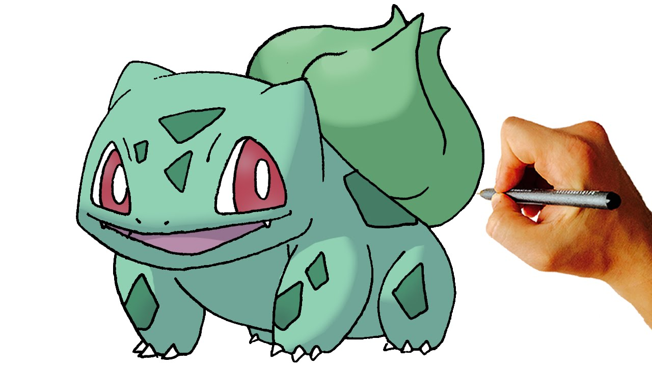 How To Draw Bulbasaur Pokemon Step By Step Art Lesson Youtube