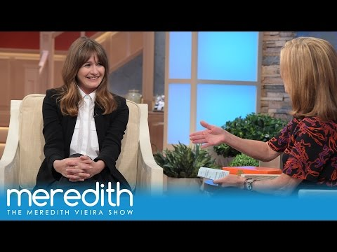 Emily Mortimer's Charming Interview With Meredith   The Meredith Vieira Show