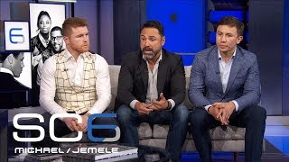 Canelo, GGG, and Oscar De La Hoya Join The Six | SC6 | June 21, 2017