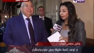السيد الشريف: نشر ثقافة التسامح والسلام فى الإعلام أمر ضرورى ومهم (فيديو)