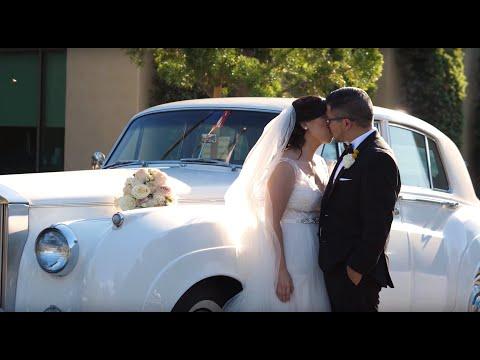 A Rolls Royce For Their Wedding | Orange County Wedding Videographer
