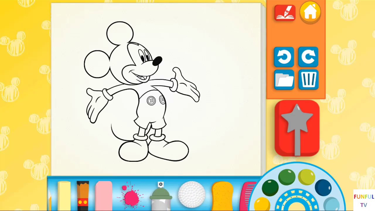 Mickey's Color and Play! by Disney Publishing Worldwide ...