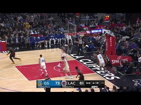 3rd Quarter, One Box Video: Los Angeles Clippers vs. Golden State Warriors