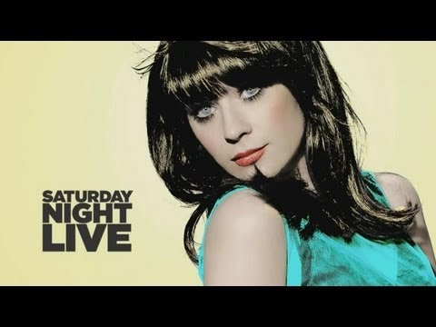 Zooey Deschanel Interview - Defends Lindsay Lohan on SNL