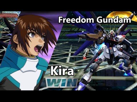 Gundam Vs. Gundam NEXT PLUS: Freedom Gundam - Arcade Mission C (Route B)