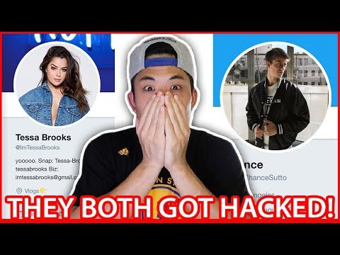 TESSA BROOKS & CHANCE SUTTON HACKED ON SOCIAL MEDIA!!! (Clips/Tweets/Everything Hacker Posted)