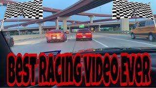 Hellcat Charger vs Hellcat Challenger!!! ** Best Racing Video Ever**