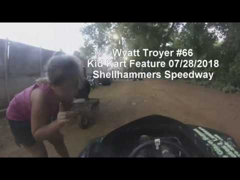 Shellhammers Speedway Kid Kart Feature on 07/28/2018