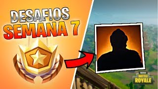 How to get the CHALLENGES OF WEEK 7!!! FORTNITE: Battle Royale ? Stratus