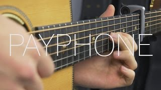 Maroon 5 - Payphone - Fingerstyle Guitar Cover - Free Tabs
