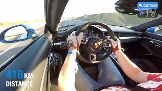 2016 Porsche 911 - Cross-Germany ROADTRIP (60FPS)