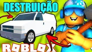 OS REIS DA DESTRUIÇÃO no ROBLOX! - Car Crushers 2 Beta