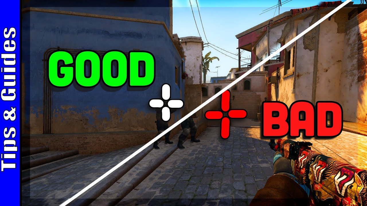 Visualizing Good vs Bad Crosshair Placement