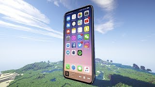 iPhone X в MINECRAFT / АЙФОН ИКС в МАЙНКРАФТ / НОВЫЙ АЙФОН В МАЙНКРАФТЕ / IPHONE 8 PLUS / APPLE / X