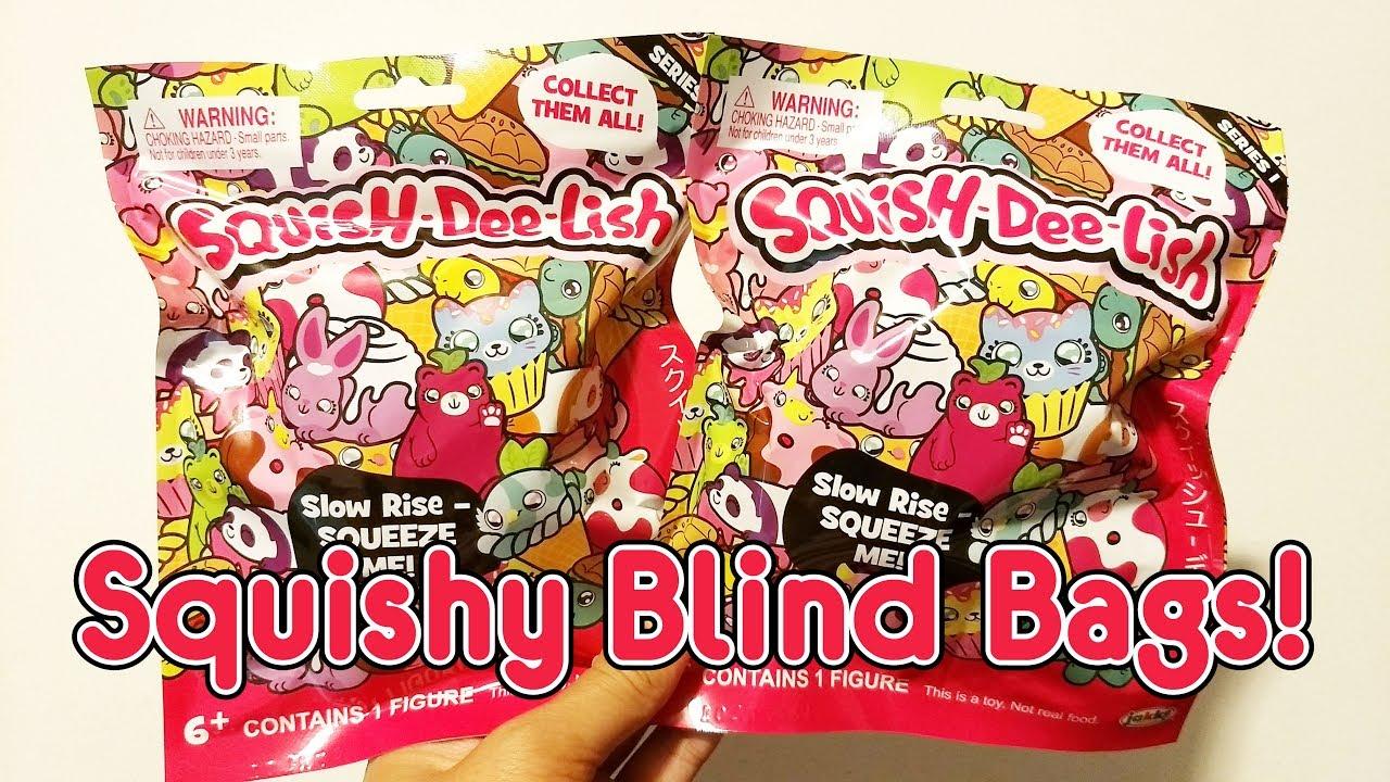 Squish Delish Target : Squish-Dee-Lish Squishy Blind Bags - YouTube