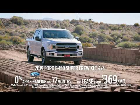 Memorial Day Specials on Ford F-150 4X4 SuperCrew