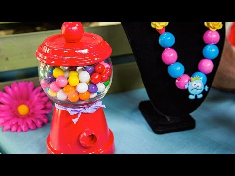 Tanya Memme's DIY Gumball Machine