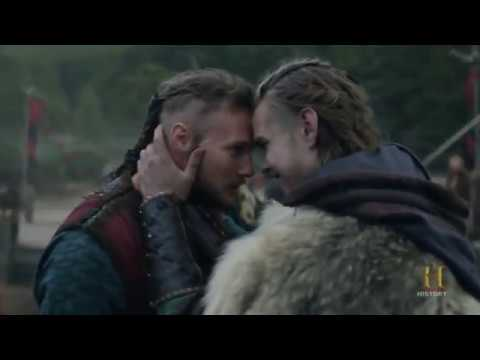 Vikings - Björn And Hvitserk Leaving Kattegat [Season 4B Official Scene]  (4x12) [HD]