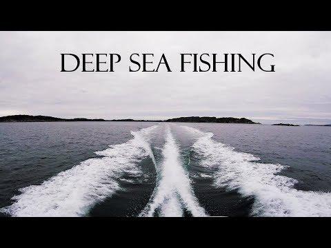 Winter Deep Sea Fishing Austevoll, Norway
