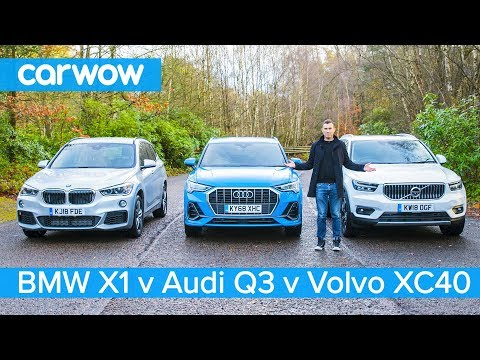 Audi Q3 vs BMW X1 vs Volvo XC40 - which is the best posh small SUV?