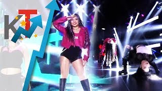 Ella Cruz' level-up performance of BLACKPINK's dance hits