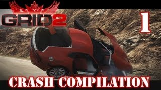 GRID 2 - Crash Compilation #1 in 1080p(Crashes and Accidents + Slow Motion Replays in PC game Race Driver GRID 2 in 1080p. enjoy :) This is just a beginning, next parts will be 10 - 30 min long, ..., 2013-06-13T22:10:02.000Z)