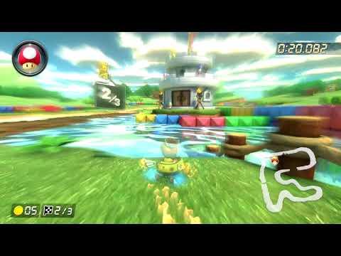 SNES Donut Plains 3 [200cc] - 0:57.814 - Dva (Mario Kart 8 Deluxe World Record)