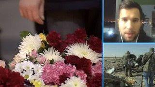 Борт с телами погибших в авиакатастрофе в Египте приземлился в Петербурге