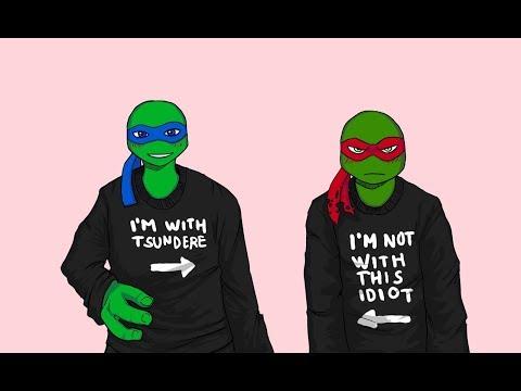 TMNT 2016 Raphael x Depressed Reader x 2016 Leonardo
