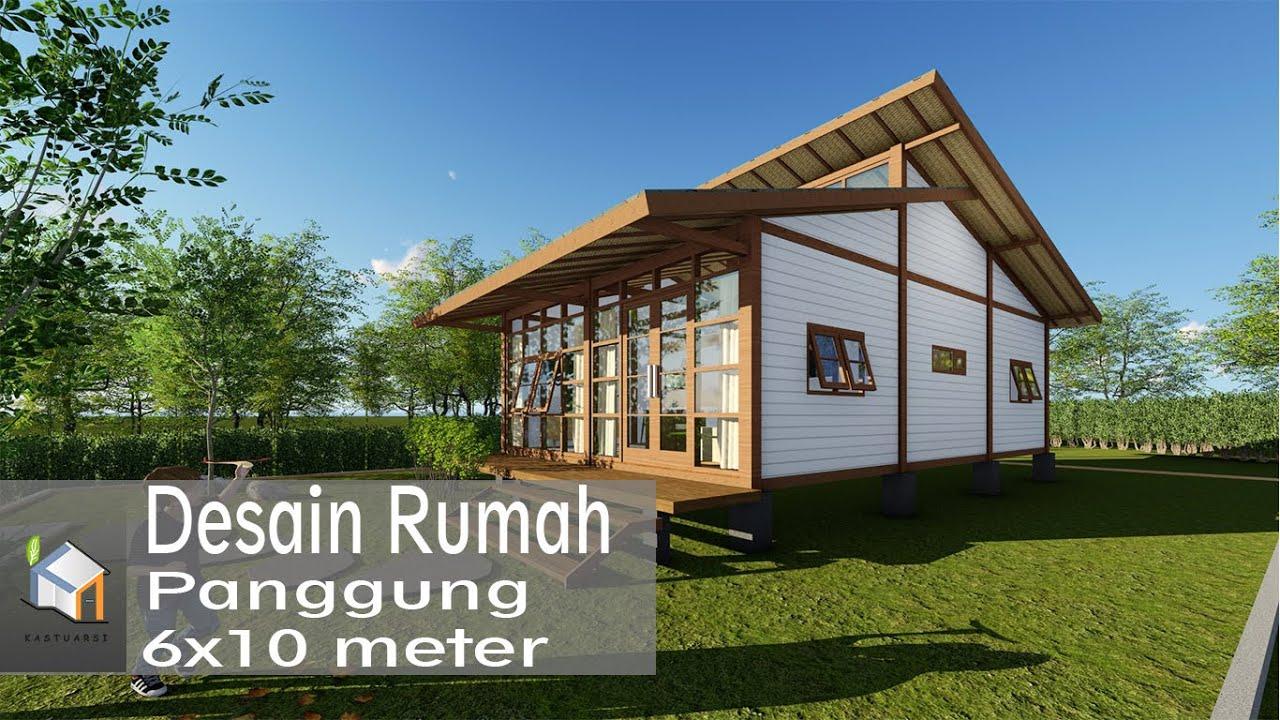 Desain Rumah Semi Panggung Cek Bahan Bangunan