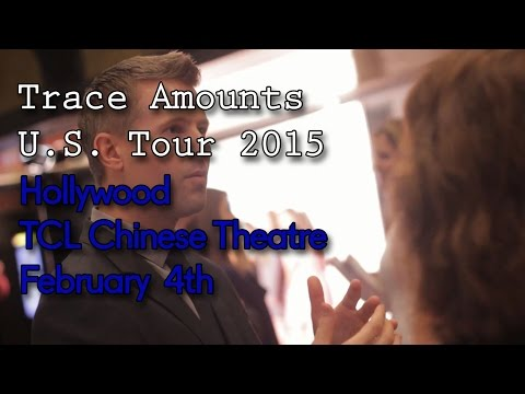 Trace Amounts U.S. tour 2015: Hollywood Premiere Discussion Panel