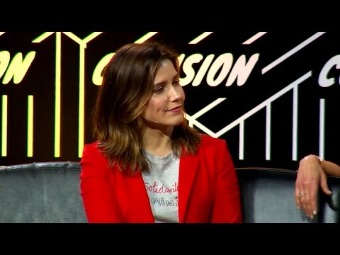 EVENT Sophia Bush at the 2017 Collision Conference
