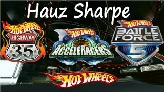 Análise - Hot Wheels World Race, Acceleracers  e Battle Force 5