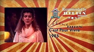 Watch Celine Dion Cest Pour Vivre video