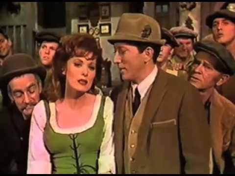 Maureen O'Hara Singing on the Andy Williams