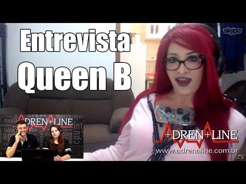 Entrevista: Queen B fala sobre carreira, peitos e streaming no mundo gamer