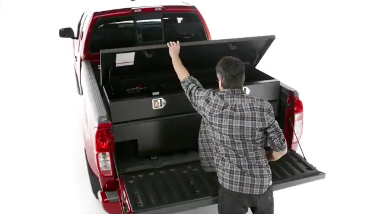 Good Nissan Frontier Accessories: Sliding Toolbox