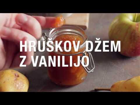 Hruškov džem z vanilijo
