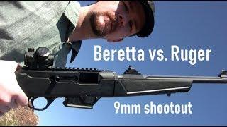 Beretta Cx4 Storm vs. Ruger PC Carbine 9mm Shootout - Who Wins?