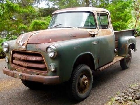 1955 DODGE POWER WAGON (MISSING LINK TRUCK) - YouTube