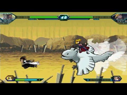 Gotei 13 Captains vs The Akatsuki - Bleach vs Naruto 3.0 Team Mode