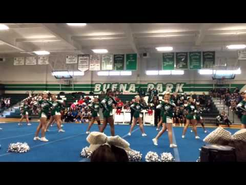 Buena Park High School Cheerleaders Varsity