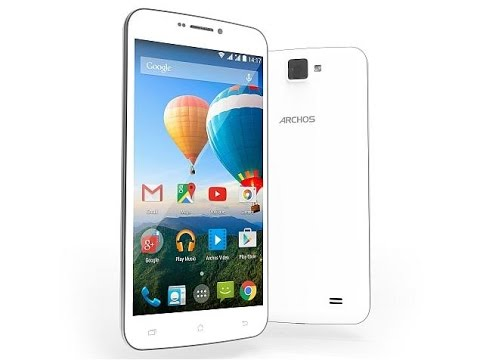 Archos 59 Xenon Hard Reset and Forgot Password Recovery, Factory Reset