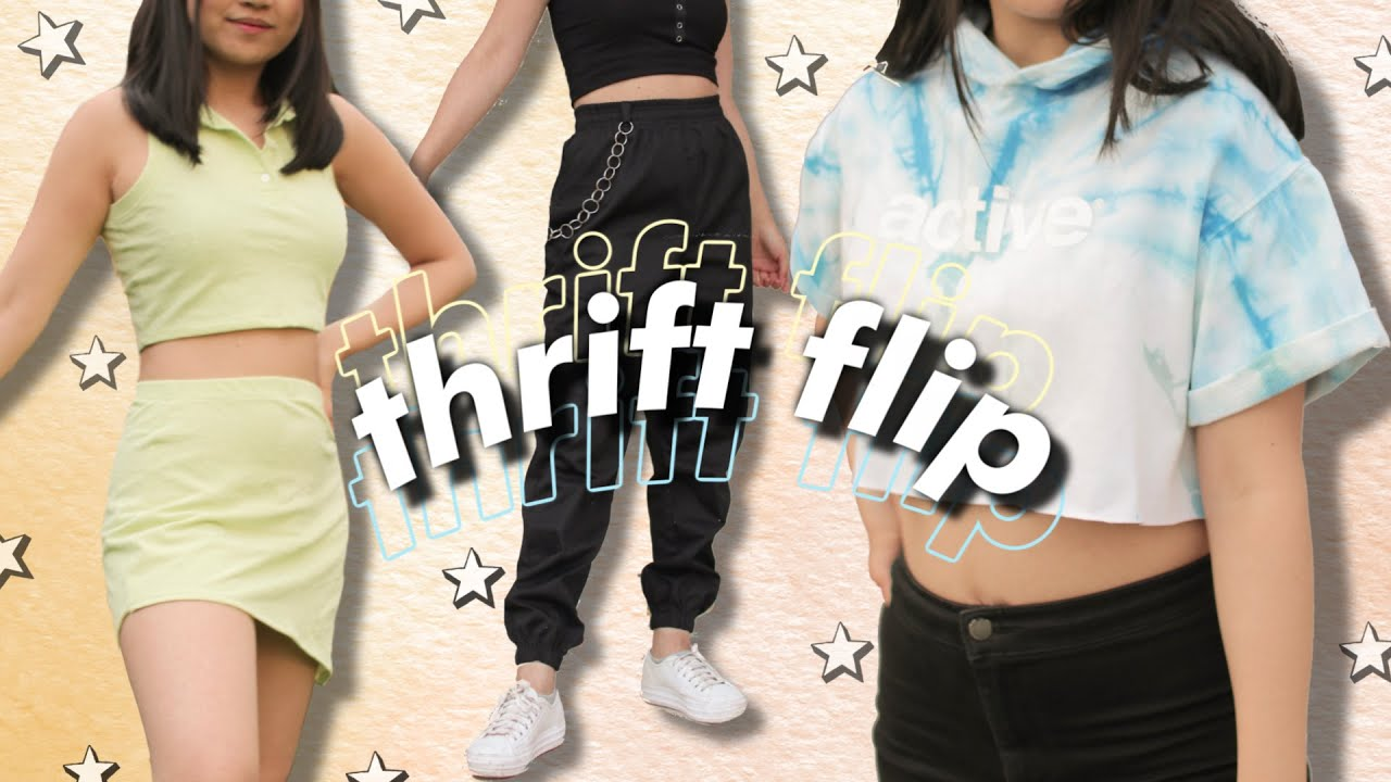 THRIFT FLIP | extreme diy clothing transformations | JENerationDIY 3