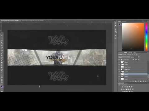Free GFX: Advanced Warfare Youtube Banner Template